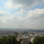 Skywatch – The city of Paris from Monmarte – Sacre Coeur