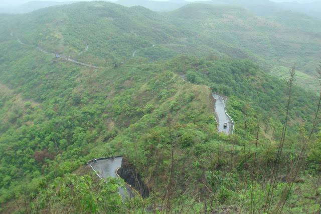 Sinhagad in the Rains