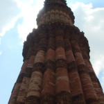 Skywatch – The soaring Kutub Minar on a sunny day
