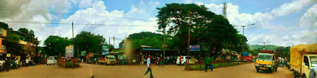 Dandeli Town Centre