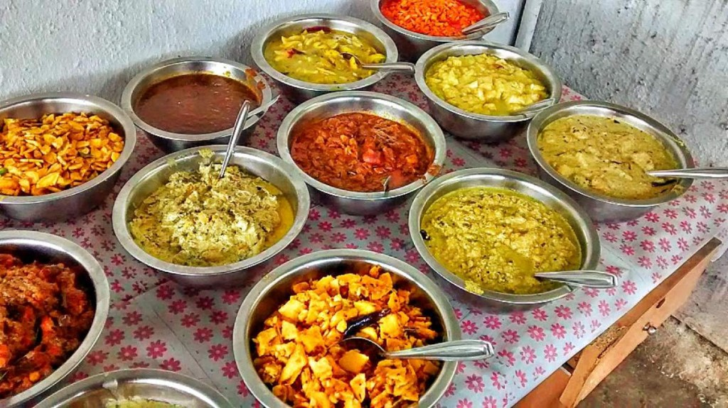 Onam Sadya Dishes
