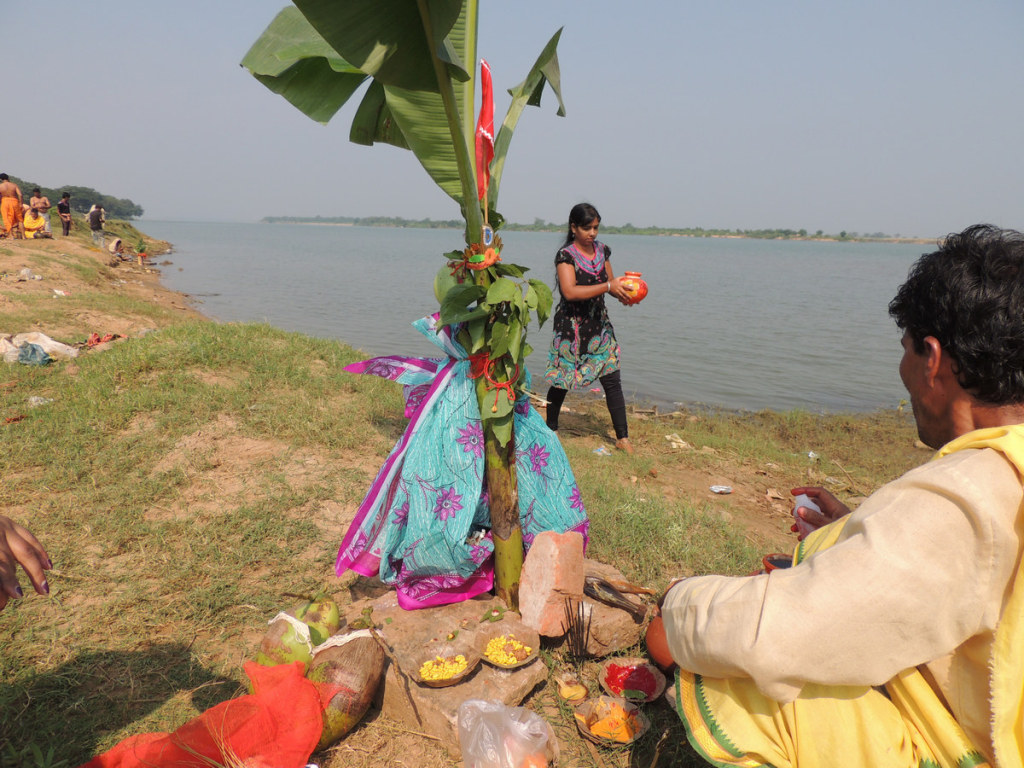 Water fetched from Mahanadi