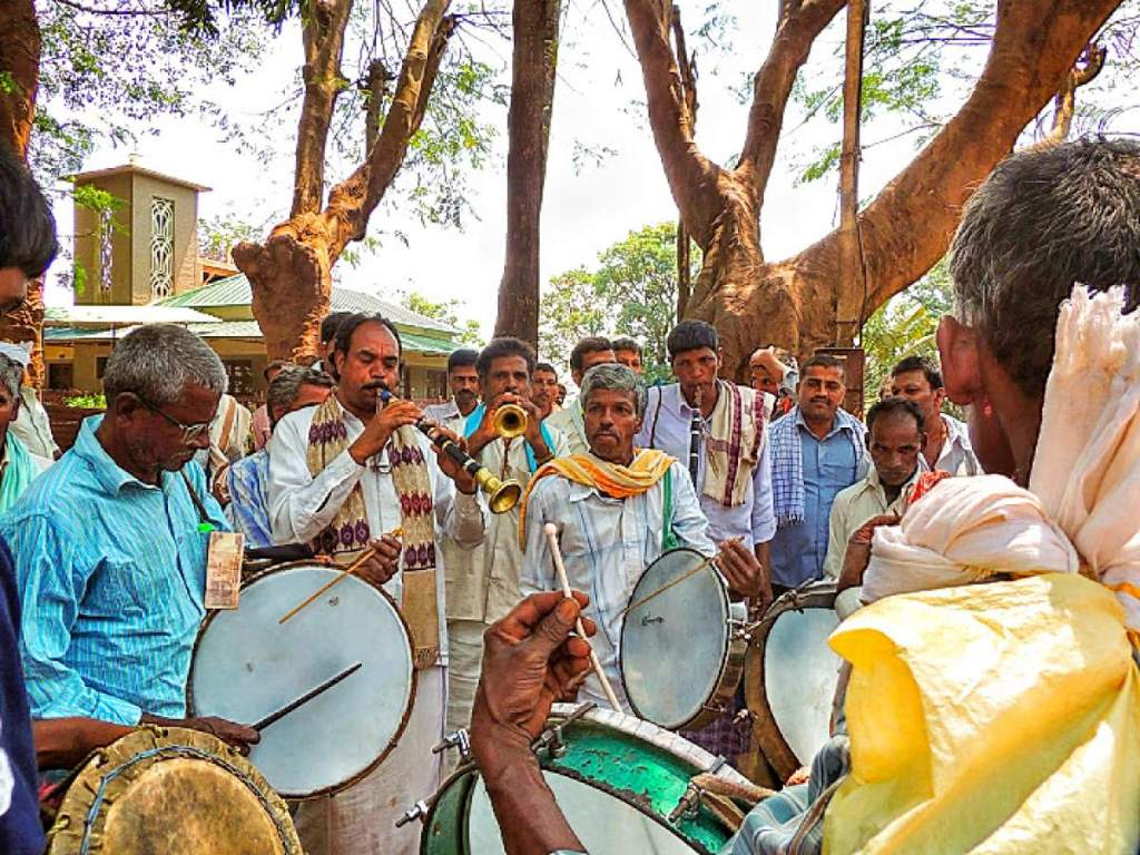 Kalhatti Festival Drums