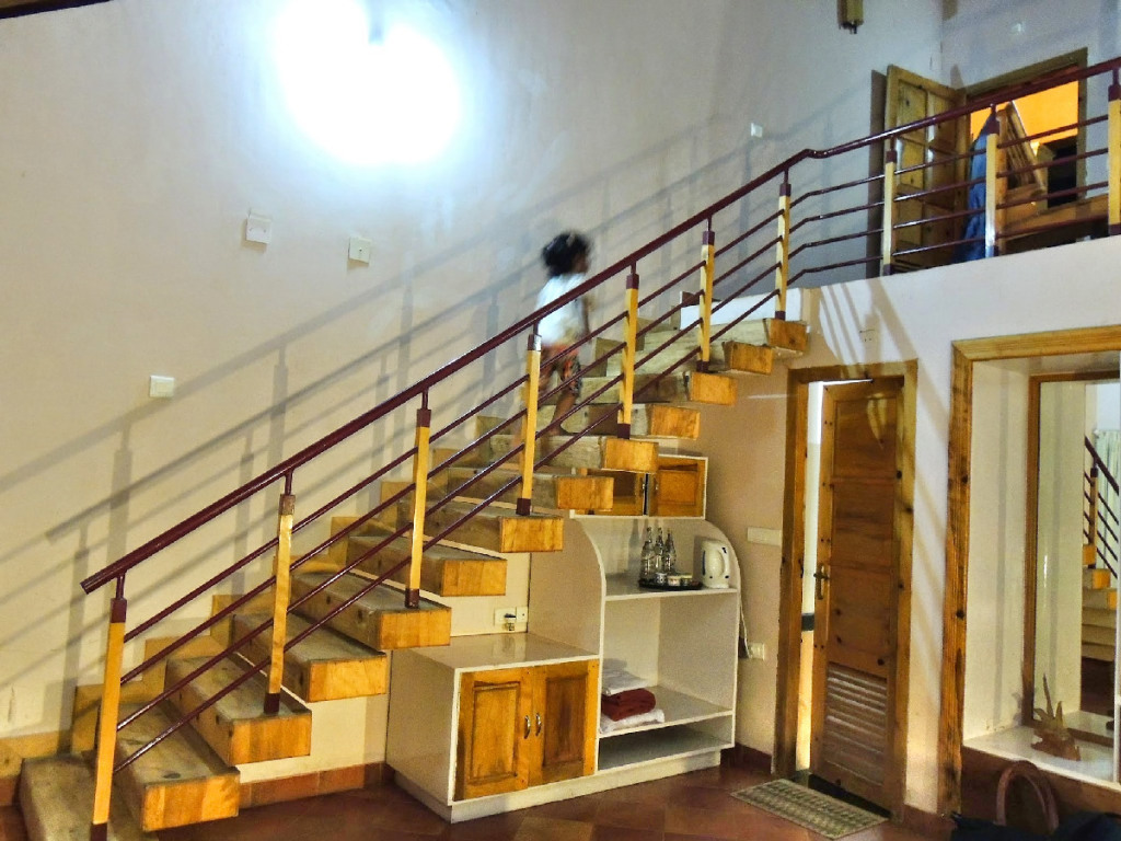 Pranavam Homestay Stairs