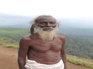Velu at Nalamudi Poonjolai