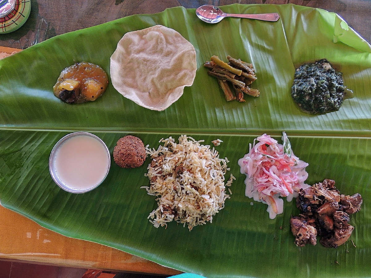 Chettinad Lunch at The Bangala