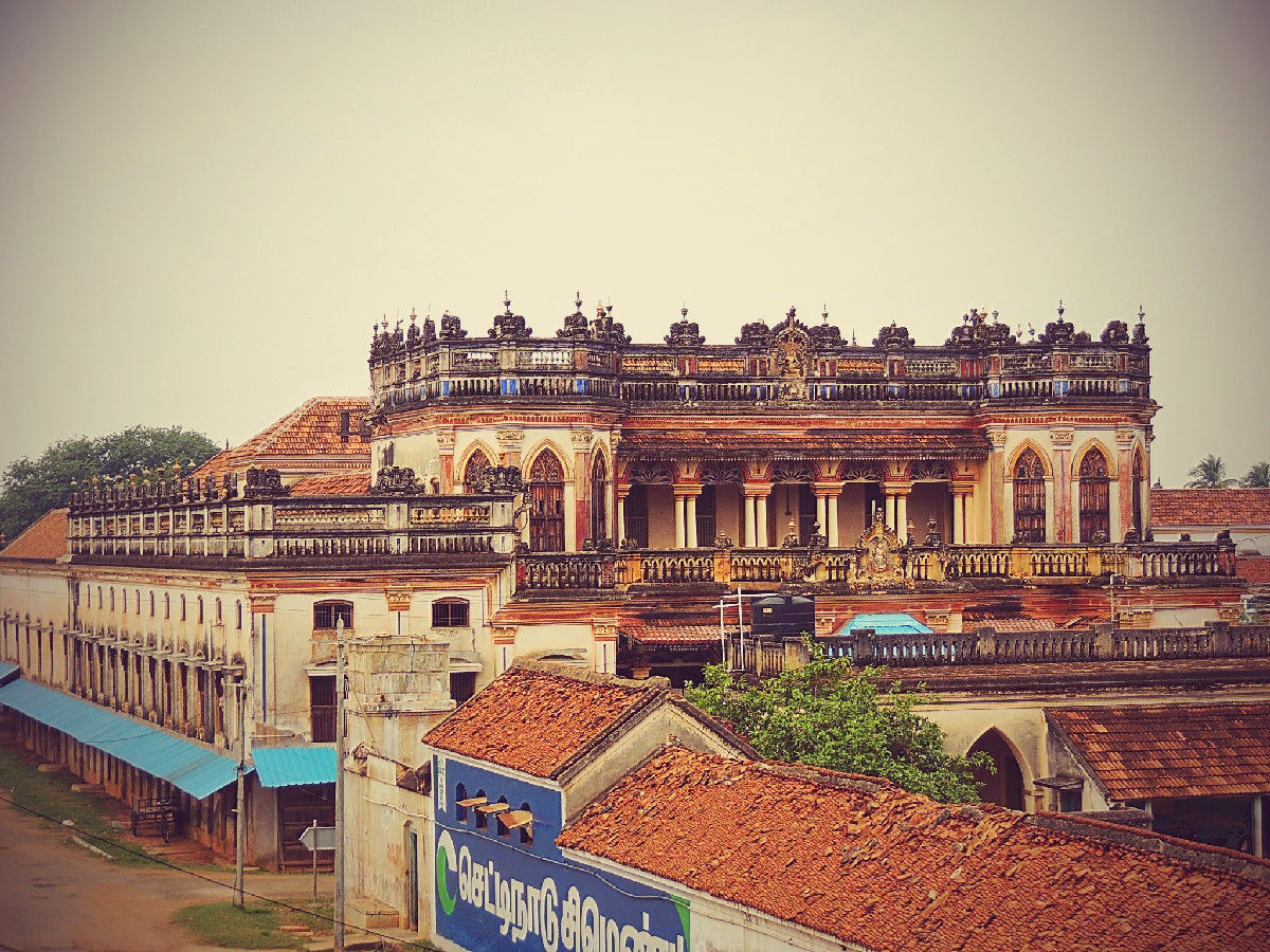 A Chettinad House
