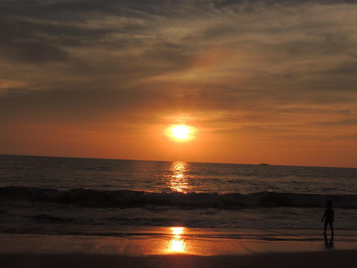 Sunset in Arabian Sea