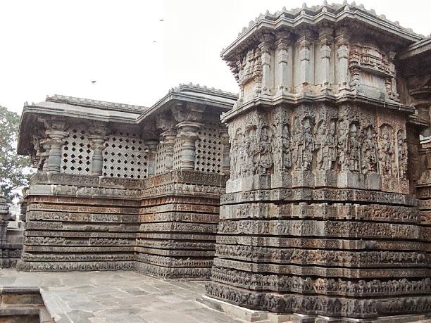 High Reliefs in Hoysaleswar Temple