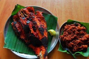 Prawns Sukka and Fish Tawa Fry