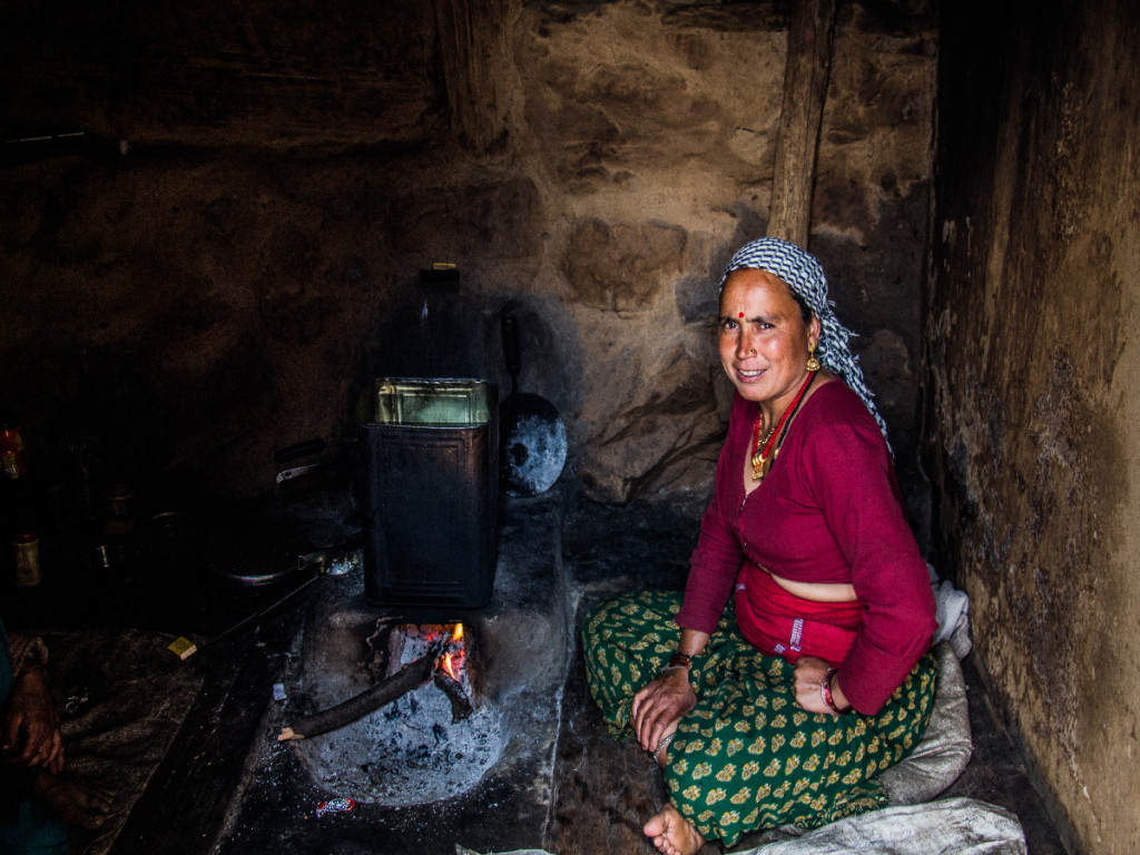 A Garhwali Woman