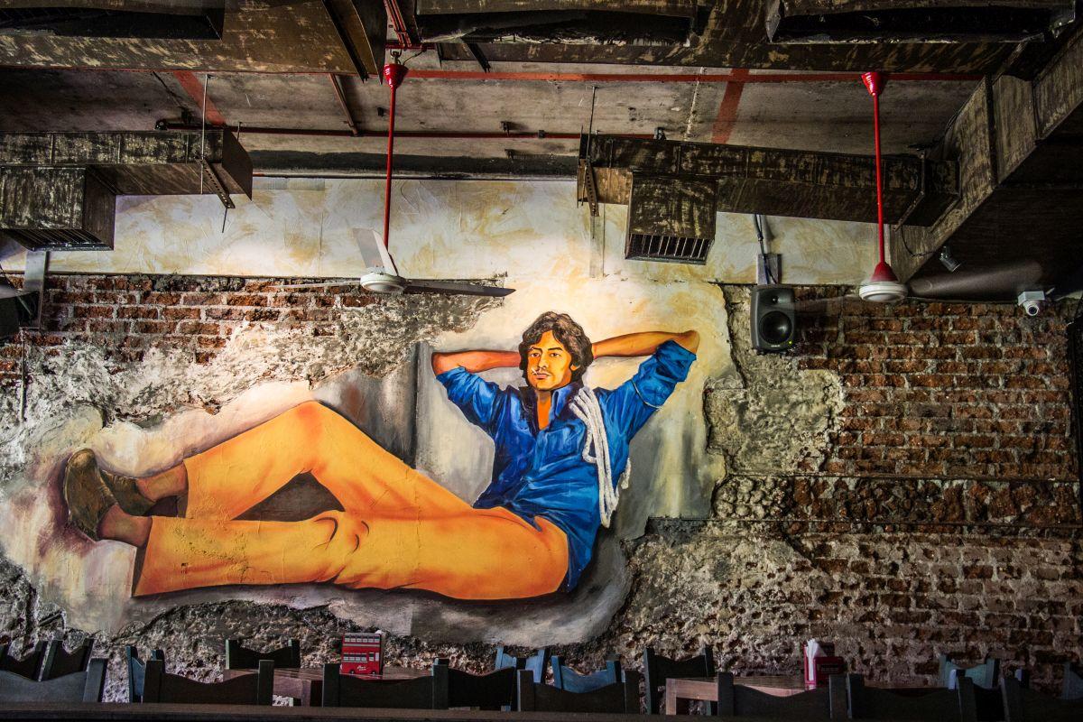 Amitabh Bachchan Mural