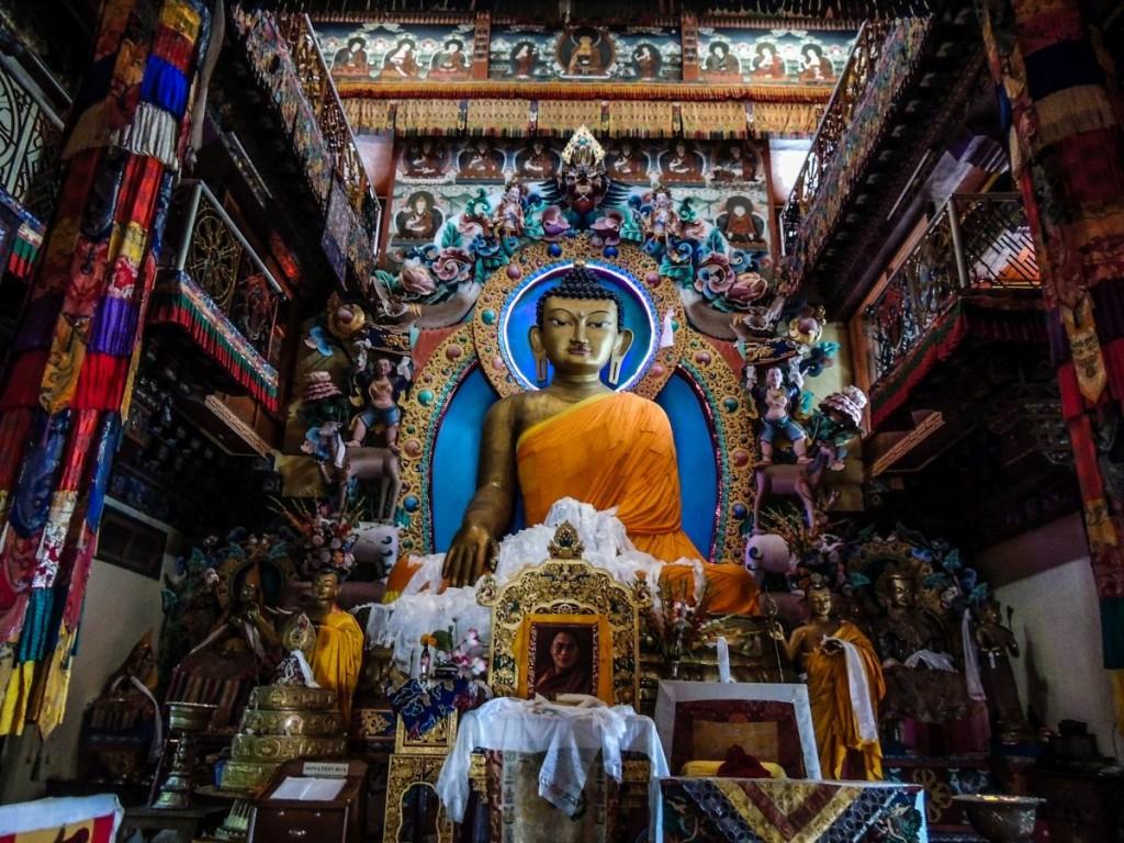 Buddha Statue in Tawang Monastery