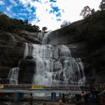 Courtallam spa of south India