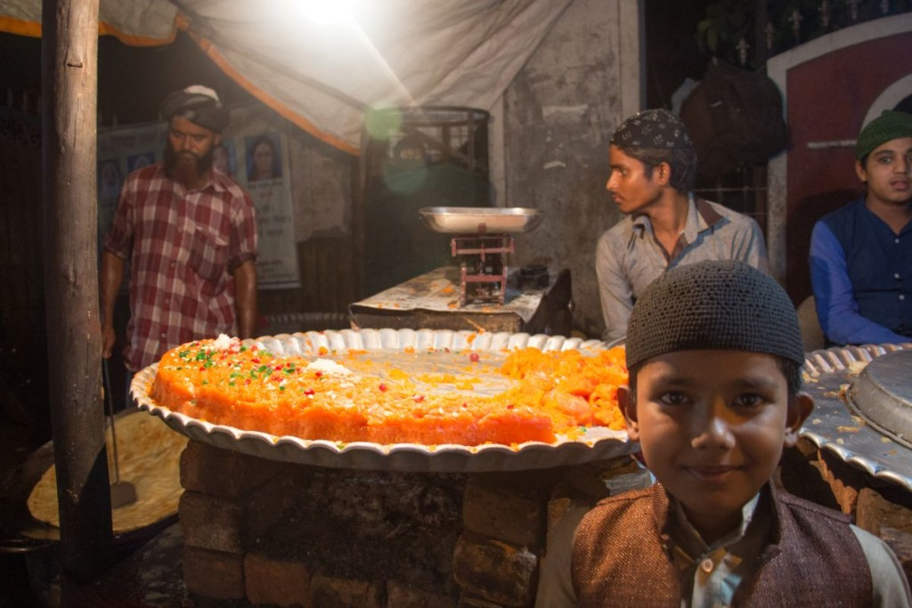 Halwa with smiles