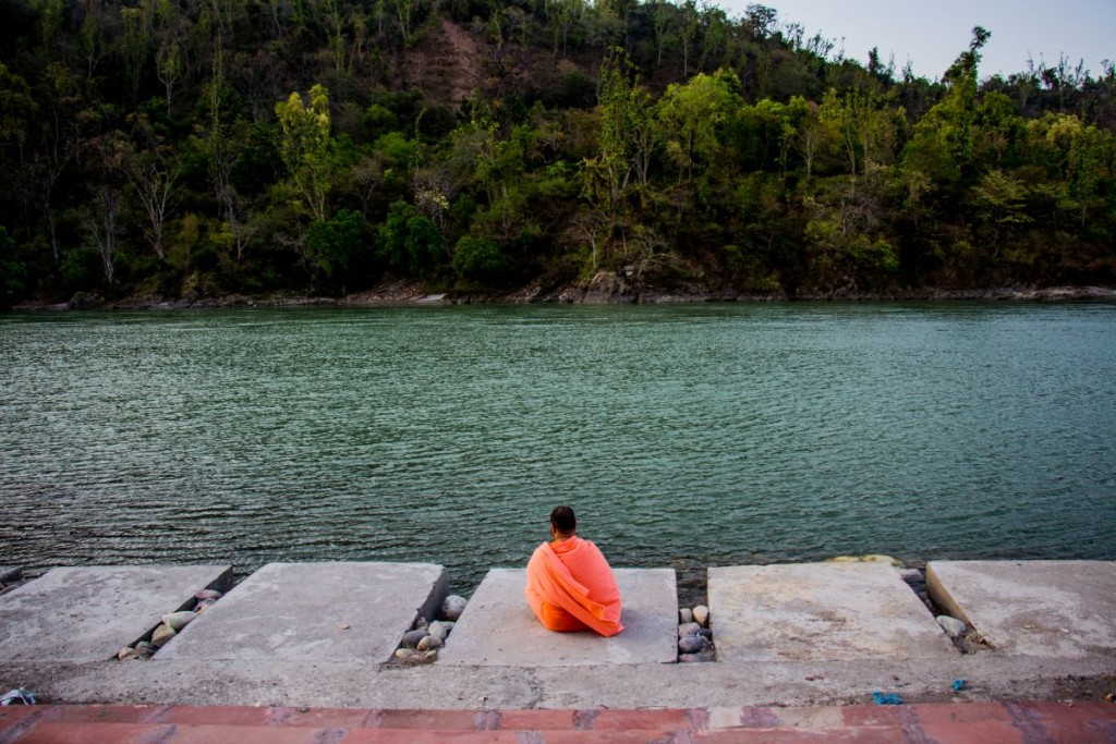 Solitude in Rishikesh Triveni Ghat