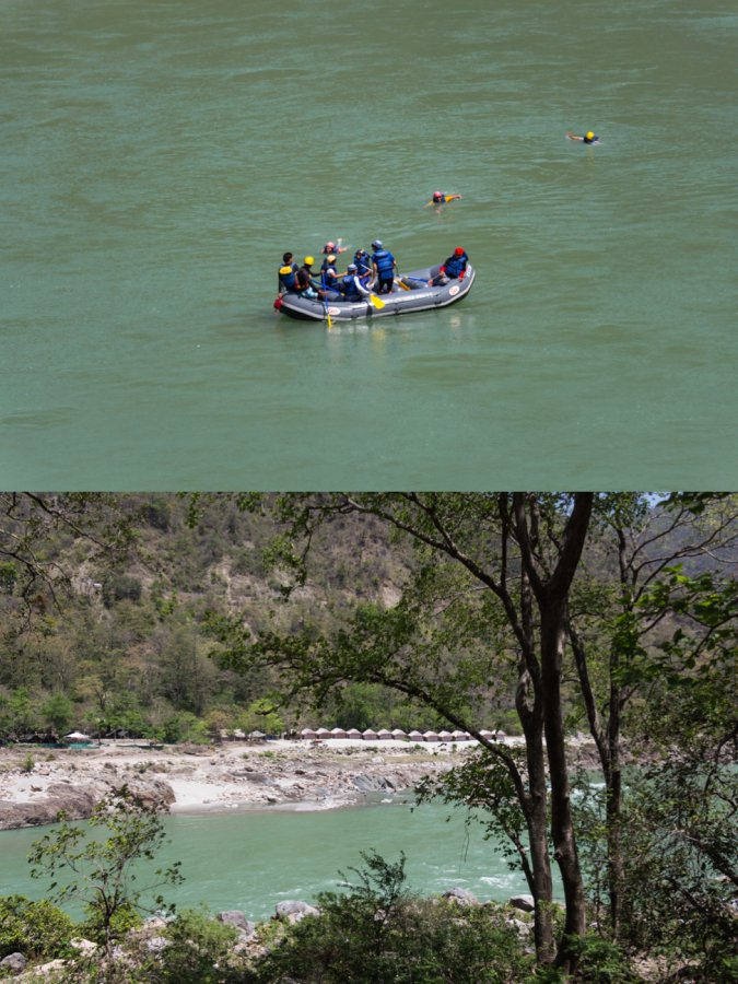 White Water River Rafting and Camping in Rishikesh