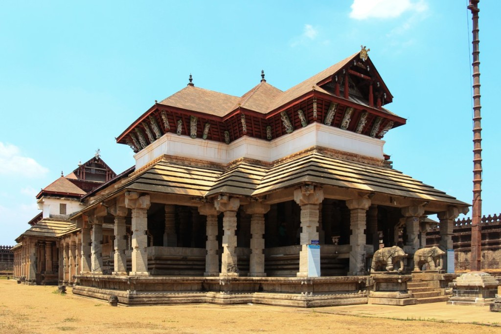 Thousand Pillar Basadi at Moodabidri