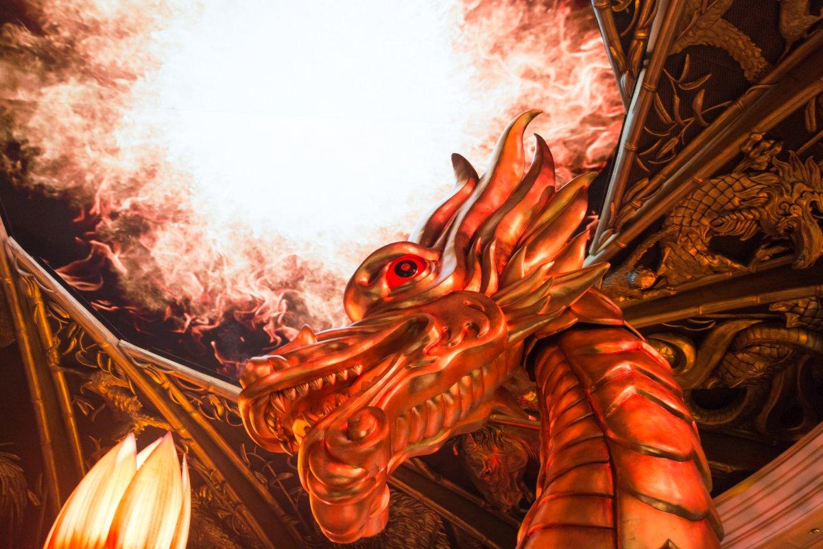 Dragon of Fortune Show at The Wynn Hotel in Macau
