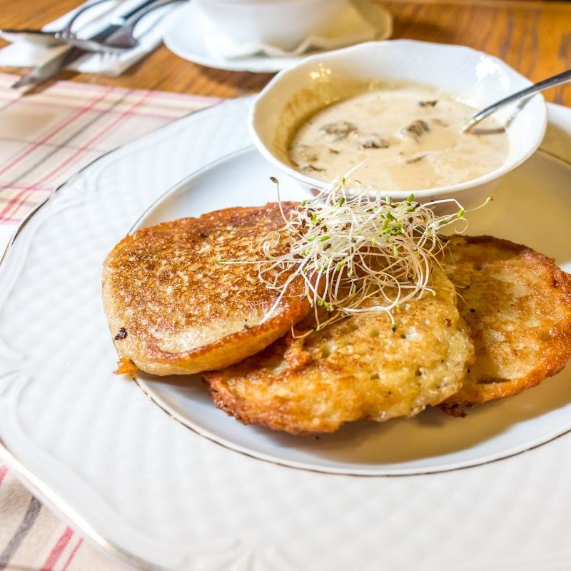These greasy potato pancakes called Placki are so tempting Youhellip