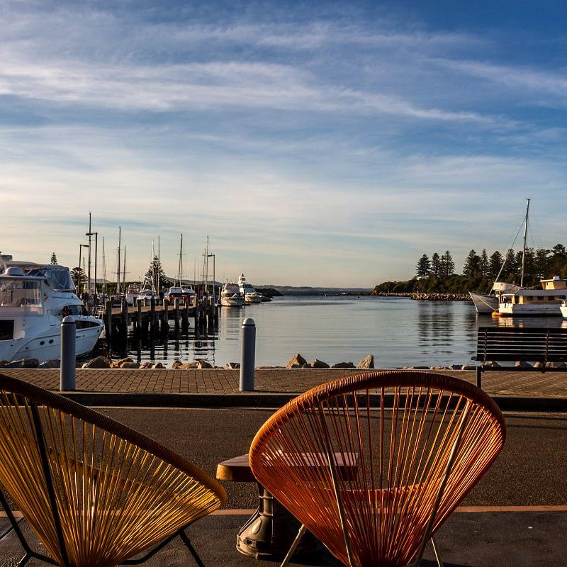 Bermagui harbour deserves a stopover for tasting the artisan gelatohellip