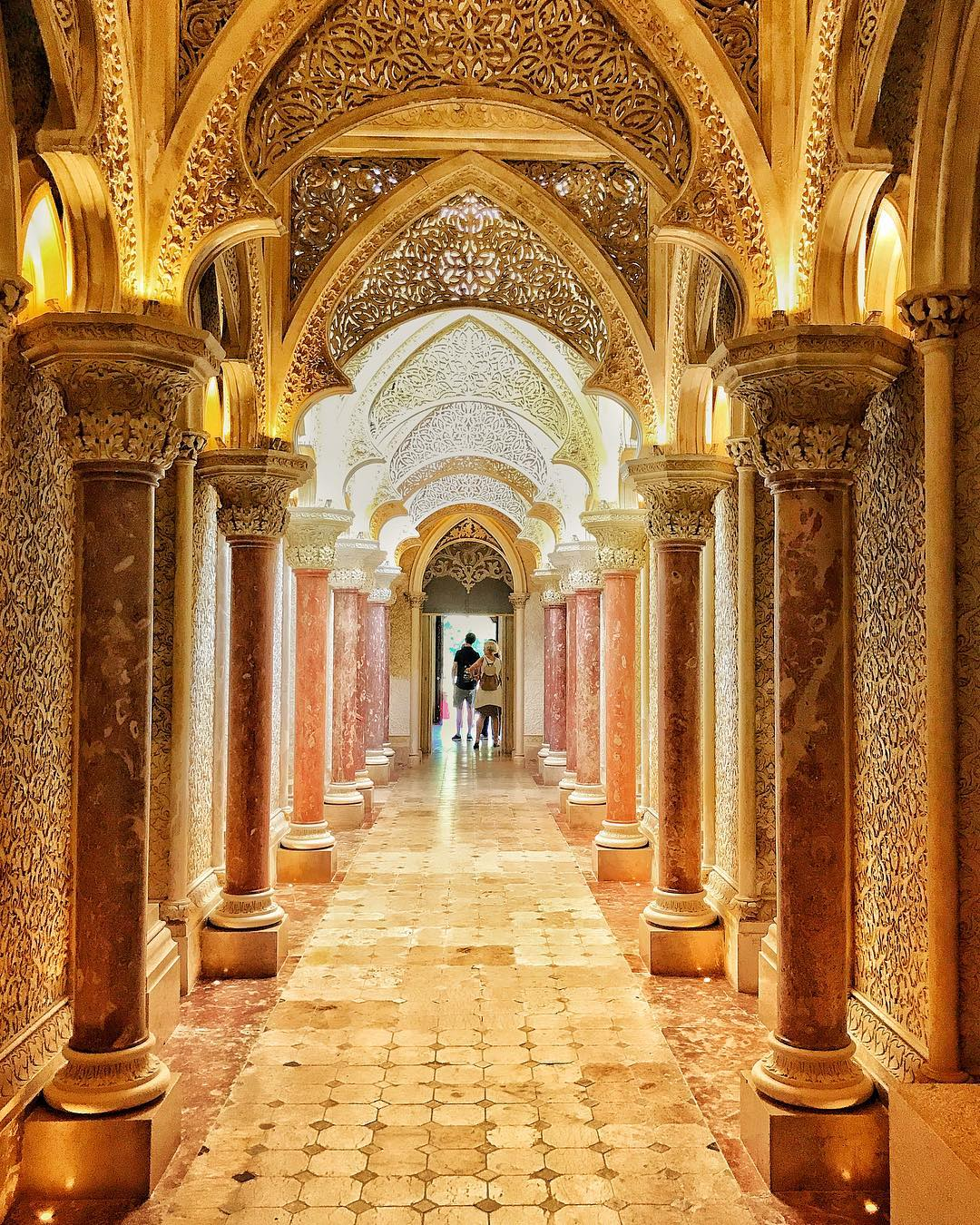 Monserrate Palace in Sintra is a beautiful work of arthellip