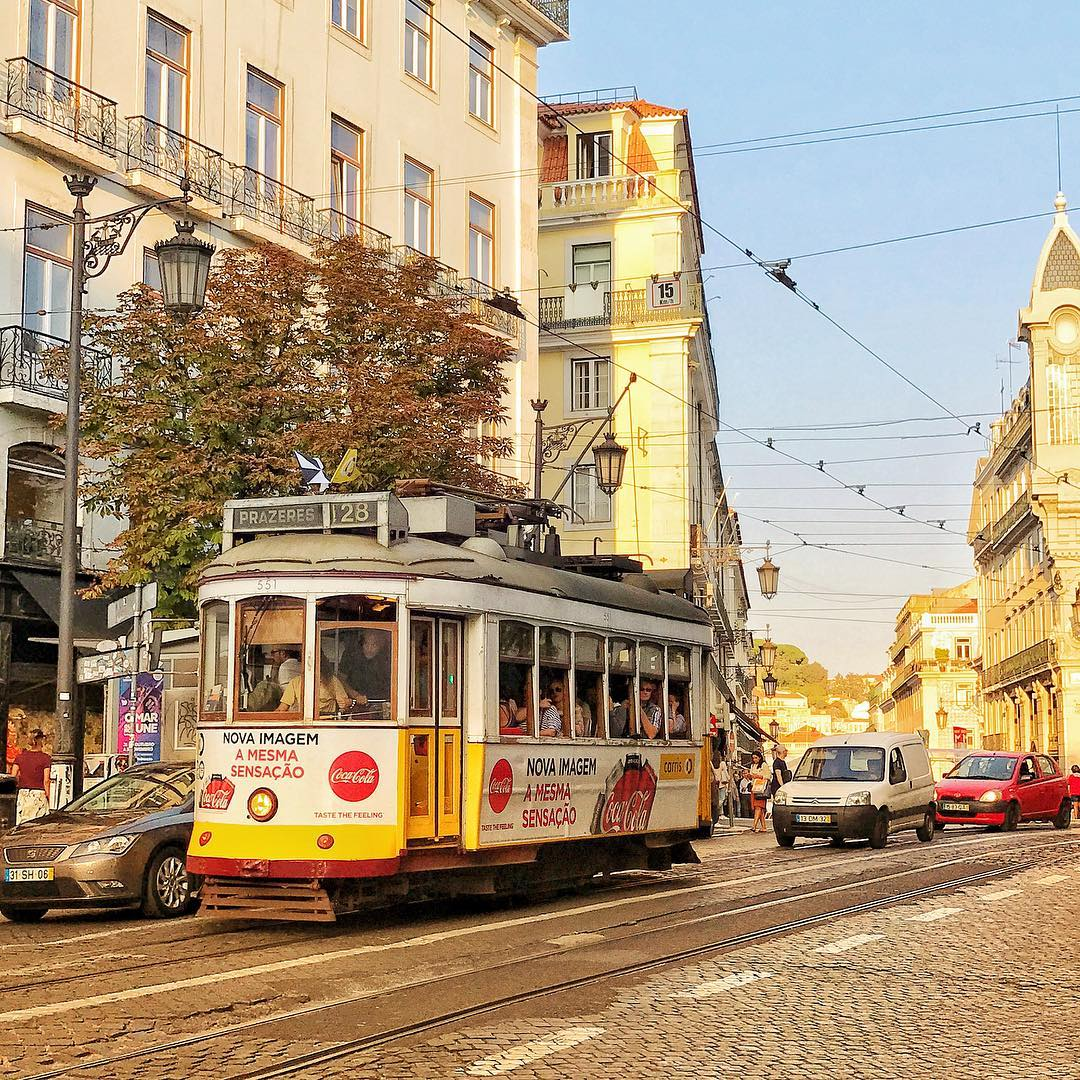 Dont the trams of Lisbon take you on a timehellip