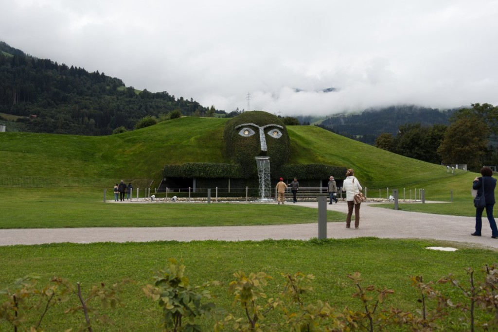 The Giant at Swarovski Crystal Worlds