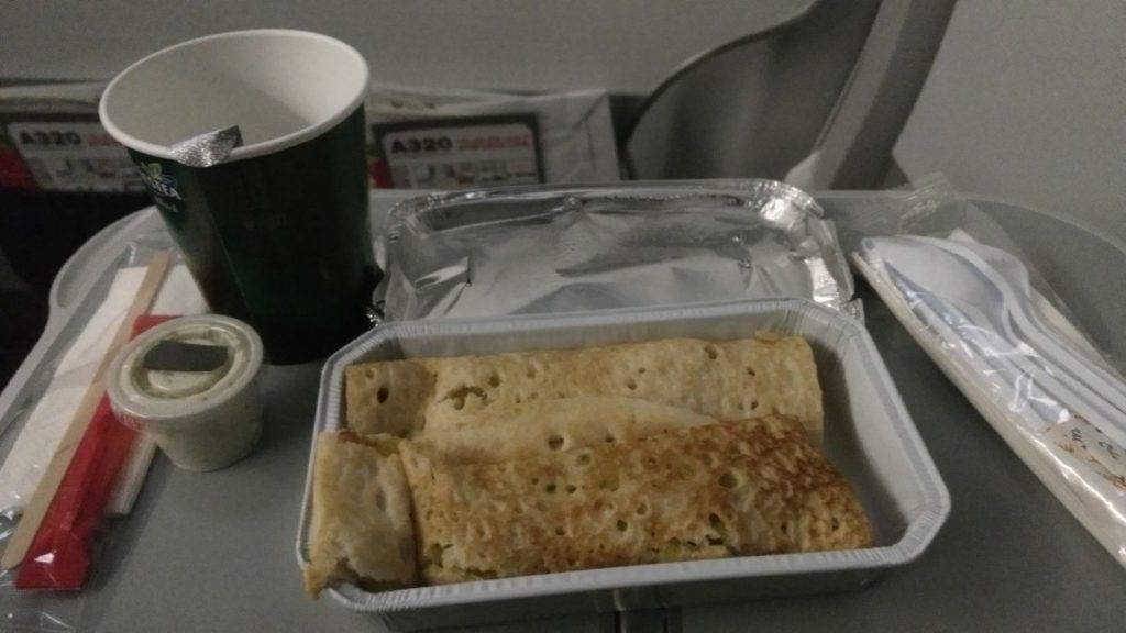 Air Arabia Meal - Dosa